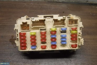 Fuse Box Electricity Central Till Nissan X Trail 2001 2007