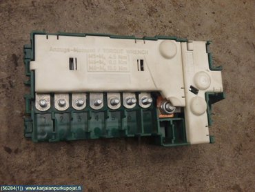 fuse box / electricity central - bmw 5-series, 1999