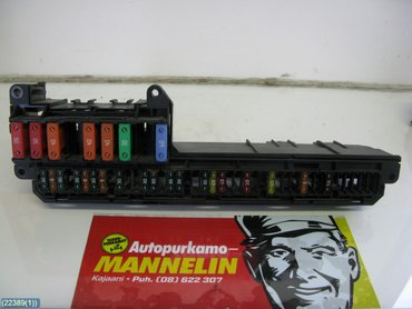 fuse box / electricity central - bmw 5-series, 2006