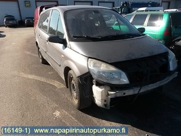 fuse box / electricity central , renault scenic, grand scenic - 2004 - ?  tkm, renault grand scenic 1 9uus kansi  turbo rikki
