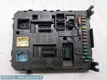fuse box electricity central till peugeot expert (2007 2014) Peugeot Expert Fuse Box 2010 peugeot expert fuse box location